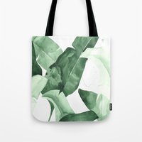 calm Tote Bags featuring Beverly II by THE AESTATE