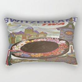Vintage poster - Switzerland Rectangular Pillow