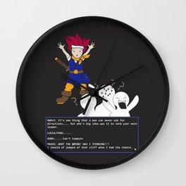 Chrono Lost Wall Clock