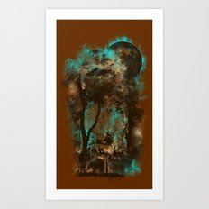 THE LOST FOREST Art Print