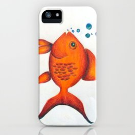 Cleo the Guppy iPhone Case