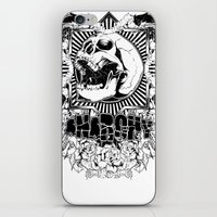 anarchy iPhone & iPod Skins featuring Anarchy scream by Tshirt-Factory