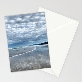 Cloud Reflection on the Oregon Coast Stationery Cards