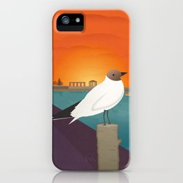 Lefkada, Seabird at Sundown (GR) iPhone Case