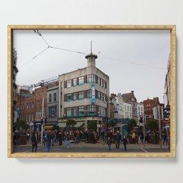 Dublin City, Ireland Serving Tray