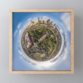Houston is out of this world! Framed Mini Art Print