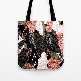 Naive Black Tote Bag