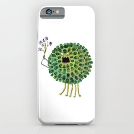 Poofy Plactus iPhone Case
