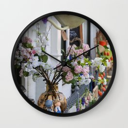 Spring In Pastels In Holland Wall Clock