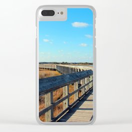 A Long Walk To The End Clear iPhone Case