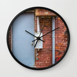 Shapes of Things series, from my street photography collection Wall Clock