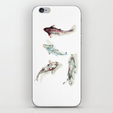 Koi Fish Watercolour iPhone & iPod Skin