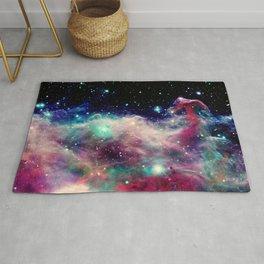 Eagle Nebula / Horsehead Nebula Deep Pastels Rug