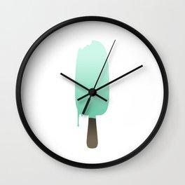 Pear Ice Cream Wall Clock