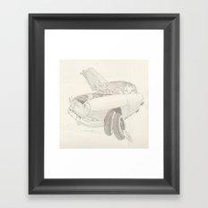 Simca Aronde  Framed Art Print