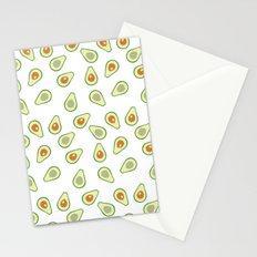 AVOCADO AVOCADOS FOOD PATTERN Stationery Cards