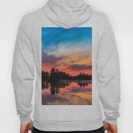 Summer Sunset over Lake Hoody