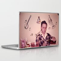 whiskey Laptop & iPad Skins featuring Whiskey Guy by 3 monsters
