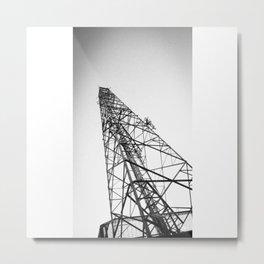 La tensión Metal Print