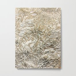 Digital Coral Design Metal Print