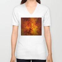 big bang V-neck T-shirts featuring big bang by siloto