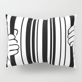 Barcode Pillow Sham