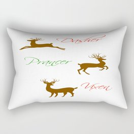 Those Frisky Reindeer Rectangular Pillow