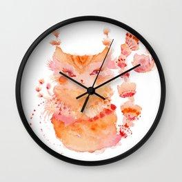 Pippa of the Dream Circus Wall Clock