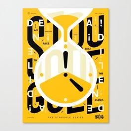 TSS 004: Deadlines Canvas Print