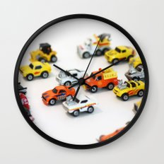 Micro Machine - Toy car Wall Clock