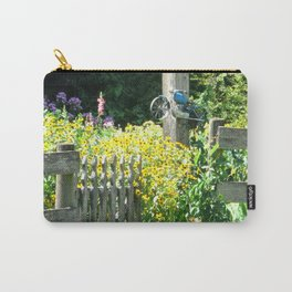 Quaint Country Gate Carry-All Pouch