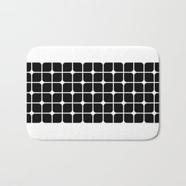 Mod Cube - Black & White Bath Mat