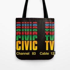 CIVIC TV Tote Bag