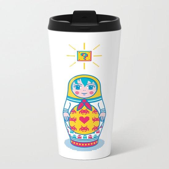 Cultural Exchange Metal Travel Mug