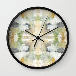 Multiple Pathways by Jennifer Lorton Wall Clock