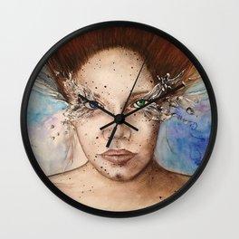 Up Close - Heterochromia  Wall Clock