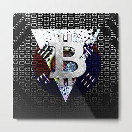 bitcoin south korea Metal Print
