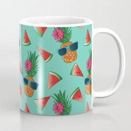 Lady Pineapple Coffee Mug