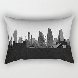 City Skylines: Baku Rectangular Pillow