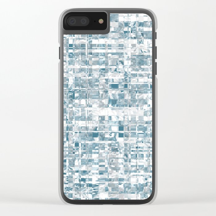 Abstract pattern 121 Clear iPhone Case