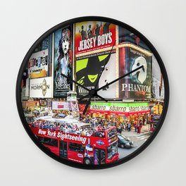 Times Square II Special Edition II Wall Clock
