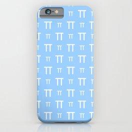 pi 2 blue iPhone Case