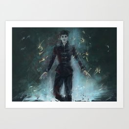 """The Outsider"" Dishonored Art Print"