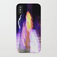 concert iPhone & iPod Cases featuring Concert Lights by Teo Designs