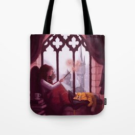 Hermione Reading Tote Bag
