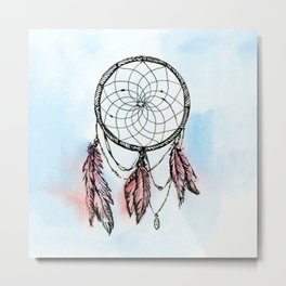 Dreamcatcher Dream Metal Print