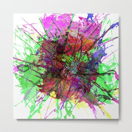 Colour Expression / Color Expression Metal Print