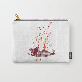 Bloody Lips Carry-All Pouch