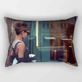 Audrey Hepburn #2 @ Breakfast at Tiffany's Rectangular Pillow