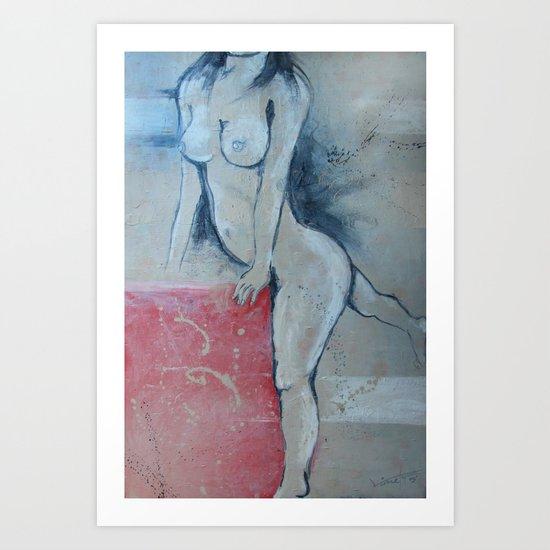 zara b Art Print